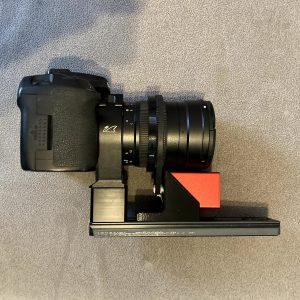 Samyang 135 WO RedCat EAF dovetail kit
